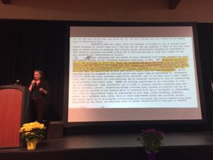 Dr. Felicia Chavez (Ph.D.) of Systems Thinking Marin speaks at the Marin Equity Summit